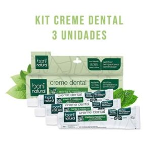 kit creme dental zero flur tea tree menta
